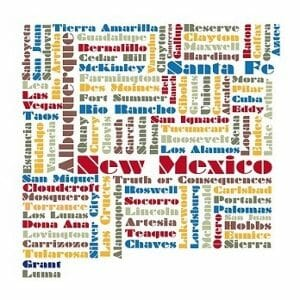 New Mexico Places300